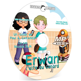 Audiolivre sur CD «Erwan, l'elfe au canard»