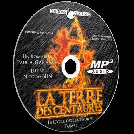 Audiolivre sur CD «La Terre des centaures» (Tome 1)
