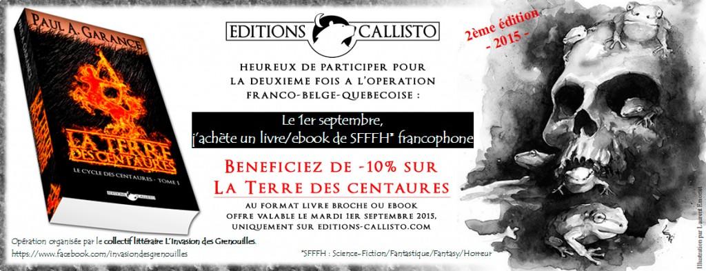Le 1er septembre, j'achète un livre Science-Fiction-Fantasy,-Fantastique-Horreur francophone