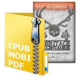 Ebook «L'Héritage des centaures» (Tome 2)